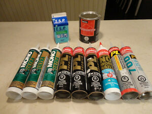 All New Tubes Of Lepage and Mono Adhesives and Sealants $4 plus Kitchener / Waterloo Kitchener Area image 1