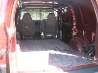 READY TO GO TO WORK SAFARI CARGO WORK VAN IN EXCELLENT SHAPE