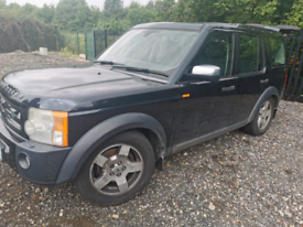 LAND ROVER DISCOVERY 3 2.7 TDV6 2006 NON RUNNER, SPARES OR REPAIR.