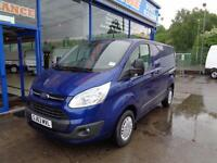 2013 FORD TRANSIT CUSTOM 290 TDCI 125PS TREND L1 (SWB) LOW ROOF - 1 OWNER VAN SW