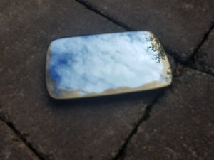 BMW E36 3 Series Driver Heated Mirror Glass SOME RUST