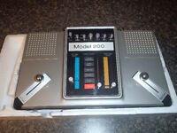 Model 200 Electronic action tv game in the box