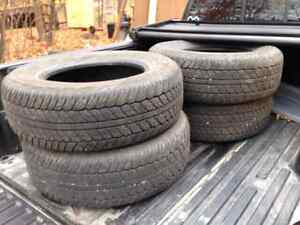 1 year old tires 265 65 17