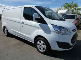 2015 Ford Transit 290 Custom LIMITED L2H1 LWB TDCi 125ps, VERY LOW MILES
