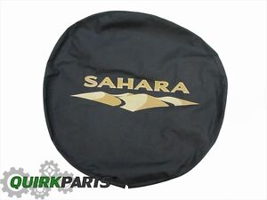 2007-2018 Jeep Wrangler Sahara Spare Tire Cover MOPAR GENUINE OEM BRAND NEW