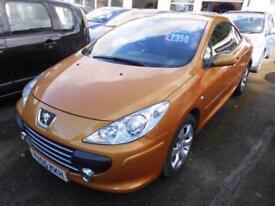 Peugeot 307 CC 1.6 16v ( 110bhp ) Coupe 2005MY S