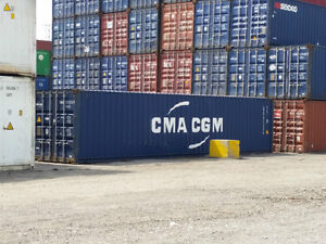 40' High Cube Storage and Shipping Containers - Sea Cans - Sale