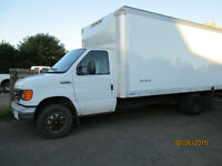 2007 Ford E-350 16 ft cube van Other