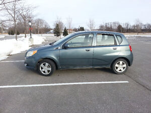 2009 Chev Aveo, Saftied, Etested and Warrantied, Only 89K