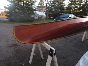 16' RIBLESS CEDAR STRIP CANOE BY TED MOORE PETERBOROUGH Peterborough Peterborough Area image 6