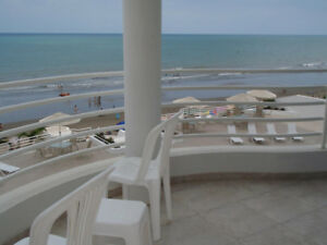 Ecuador Beachfront Condo 3 Bed Bath for Rent
