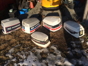 Johnson/evinrude outboards hoods