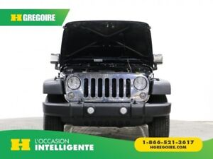 2015 Jeep Wrangler Unlimited Sport 4X4 AUTO A/C MAGS