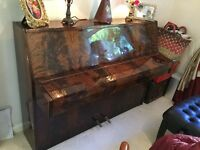 Small upright Zender piano