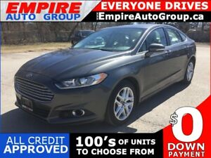 2015 FORD FUSION SE * LEATHER * REAR CAM * SUNROOF