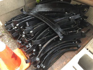 New trailer leaf springs