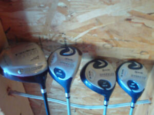 Starter set of Ladies Golf Clubs RAM and a few other clubs