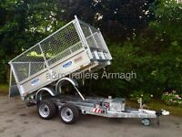Dale Kane trailer 8x5,6 electric tipping tipper 3 ton