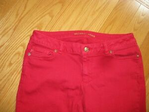 Michael Kors Red Jeans Size 8P West Island Greater Montréal image 3