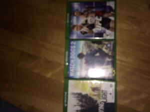 3 Xbox one games all mint condition