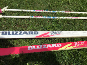 Fun in the snow! Racing skis for sale.