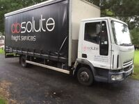 Iveco 75-E 17 22ft 7,5ton curtonsider with taillift