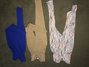 3 Jumpsuit dresses for $25, with tags still! Brand new! Size L