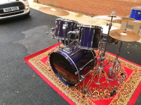 Pearl Export drum kit w/ hardware only (Purple).
