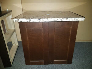 Bathroom Cabinet & Granite Countertop