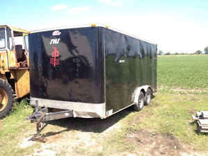 2013 Forest River 16 Foot Enclosed Trailer