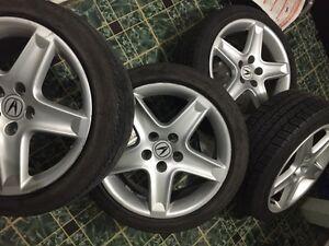 Sellin Acura TL rims and tire (all season)!! CHEAP