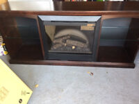 Electric Fireplace/Bookshelf or TV stand
