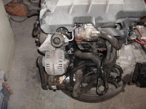 2013 VW TDI Engine with tray & Transmission 103 K Only