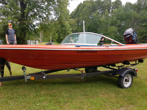 14 foot thundercraft ski boat