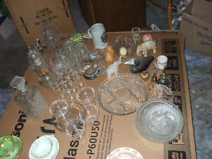 FOR SALE OLD CUPS & SAUCERS,,AND CHINA,,CRYSTAL