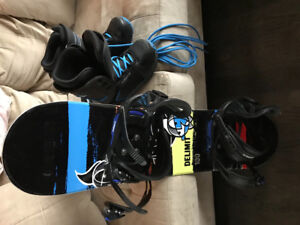 Junior Snowboard Boots and bindings