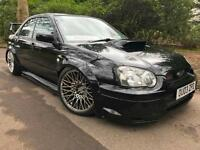 MODIFIED SUBARU Impreza 2.0 WRX STi TYPE UK,AIR LIFT,PRODRIVE PACK 300bhp
