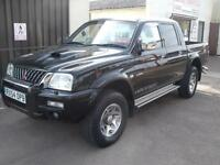 Mitsubishi L 200 Warrior 4x4 Double Cab, Load Liner, Low Mileage