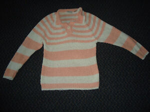 Ladies Small Fits 6-8 Sizing Striped Sweater by Traditions*SEARS Kingston Kingston Area image 1