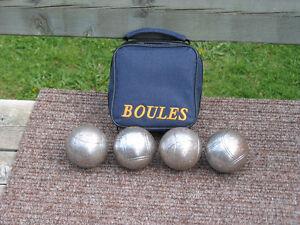 4 boules de pétanque West Island Greater Montréal image 1