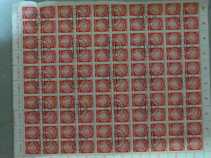 2 Sheets of Unused German Stamps  $25