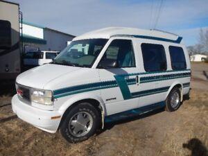 GMC Safari Raised Roof Travel Van