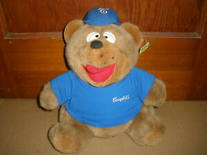 Promotional Plush From the Past - Stuffed Campbell's Soup Bear London Ontario image 1