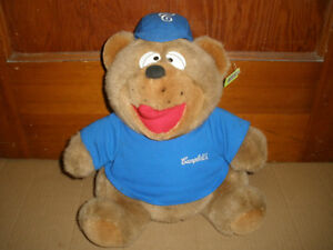 Promotional Plush From the Past - Stuffed Campbell's Soup Bear