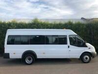 2013 Ford Transit T430 2.2 135bhp LWB EL DRW MINI BUS 14 / 17 SEATS
