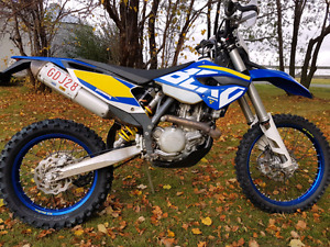 2013 husaberg fe 501 only 25 hours .