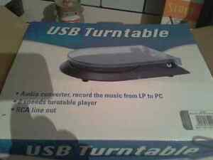 Usb turntable Cambridge Kitchener Area image 1