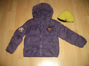 """ United Colors of Benetton"" down/ duvet Jacket -- size 5 / 6"