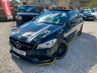 2017 Mercedes-Benz CLA CLA 45 4Matic Yellow Night Edition 4dr Tip Auto SALOON Pe