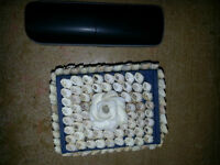 COOL SEASHELL BOX ONLY 3$